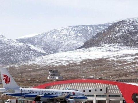 """西藏喜迎一高原机场,耗资27亿完善交通网,周边景色""""美得冒泡"""""""