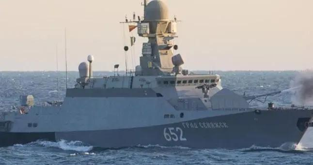 俄军15艘战舰通过刻赤海峡进入黑海