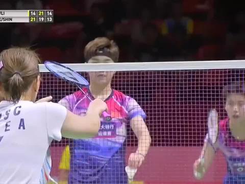 国羽女双后起之秀,杜玥-李茵晖vs李绍希-申昇瓒,决战泰国公开赛