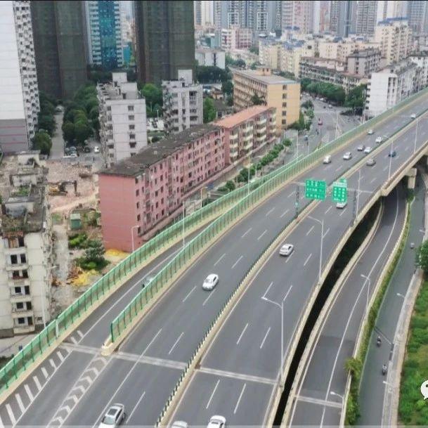 """南宁东西向""""空中走廊""""全面建成,火车东站到清川大桥约可节省一半时间"""