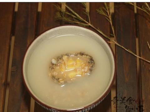 鲍鱼燕麦粥,可以当便当的杂粮粥