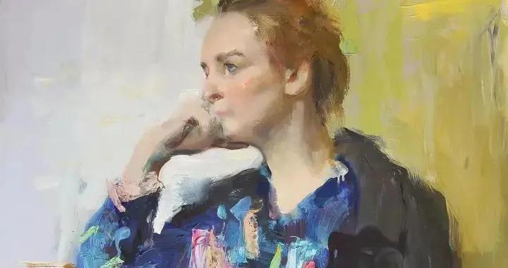俄罗斯肖像油画家伊凡·罗吉诺夫油画作品欣赏
