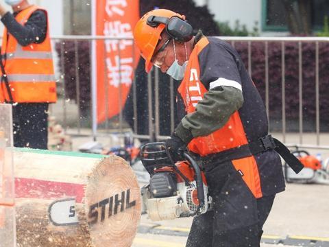 斯蒂尔中国伐木大赛重回江湖,武汉分站赛圆满结束