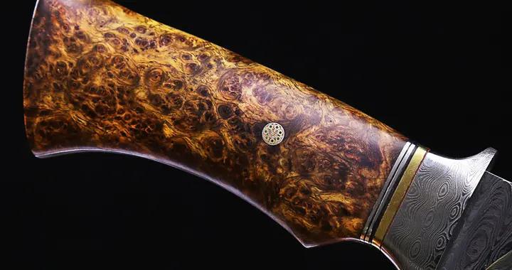 树木生病长出的木瘤,竟是刀具圈的宝贝,上等刀柄材料