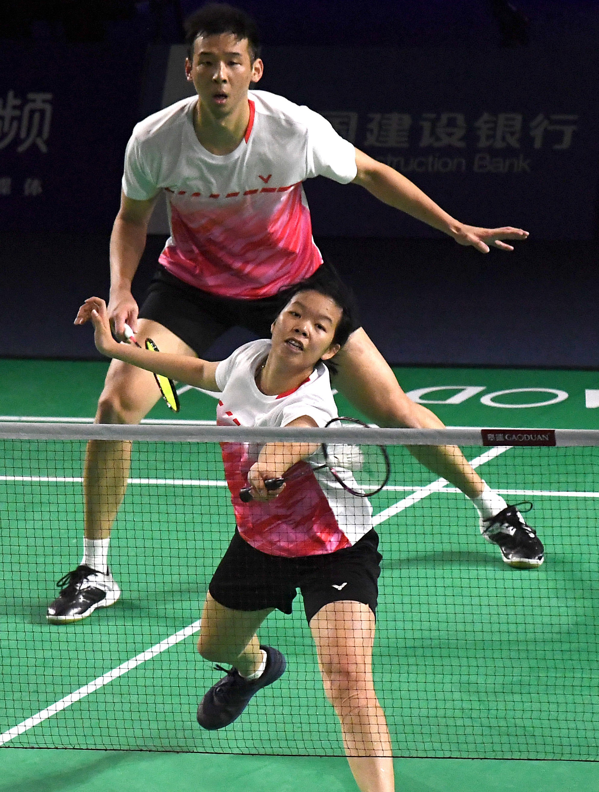 羽毛球——全国冠军赛:鲁恺/覃惠芷获混双冠军