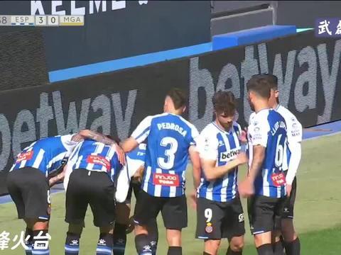 「武磊时刻」西班牙人3-0马拉加,武磊个人集锦+全场进球