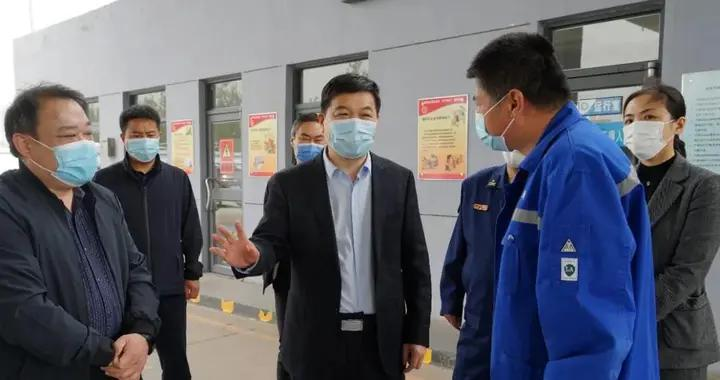 丛台区委书记李学军深入一线调研安全生产工作