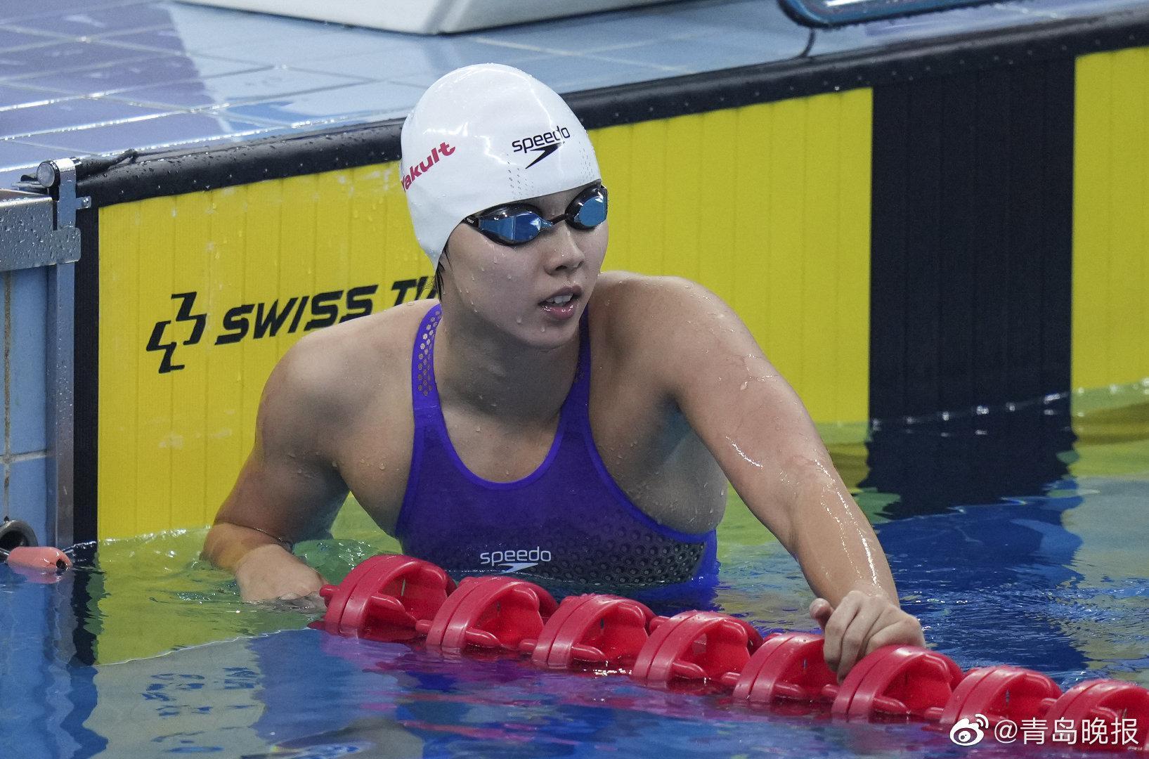 全国游泳冠军赛:杨浚瑄再夺一金,王佳音晋级决赛