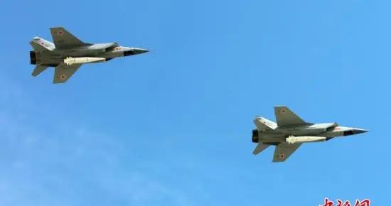 美国侦察机抵近俄罗斯领空 俄出动米格-31伴飞