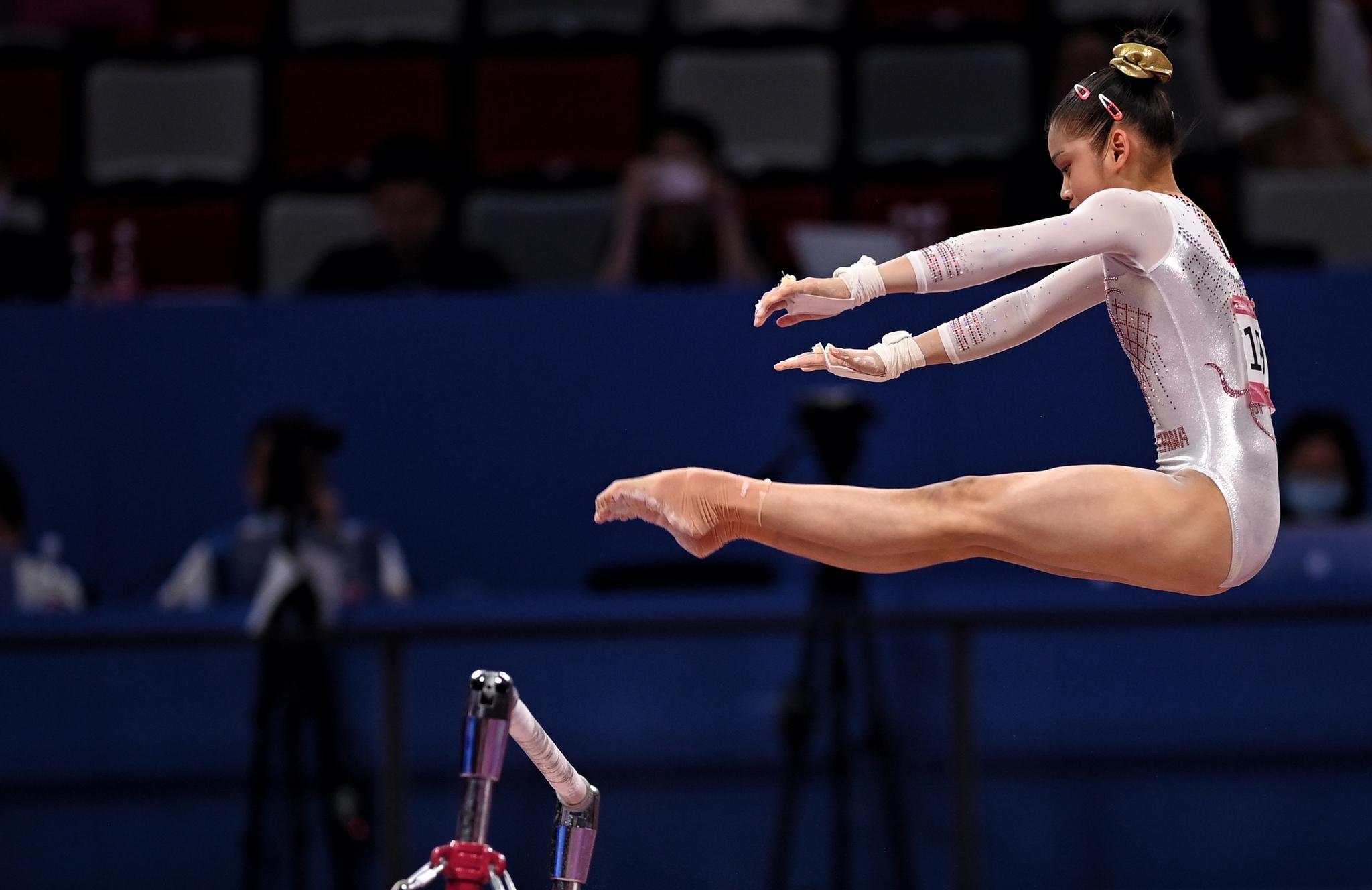 体操——全锦赛:女子高低杠决赛赛况