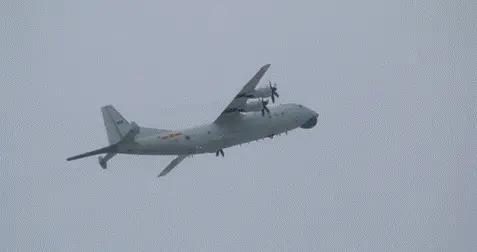 台防务部门还在盯:解放军2架次运-8反潜机昨日进入台西南空域