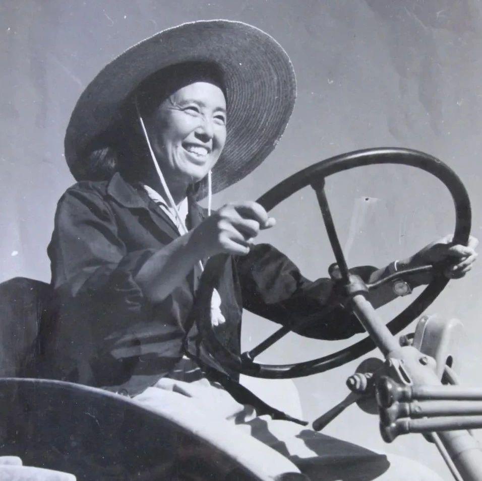 金茂芳:新中国第一代女拖拉机手