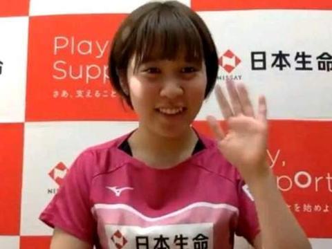 平野美宇透露一天只训练6小时,奥运之前不参加任何比赛