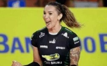 球员反对和排协顾及形象,巴西女排的变性人蒂芬妮落选国家队