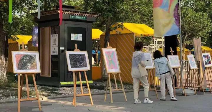 """全国助残日来临之际,南京银杏里展览""""原生艺术"""""""