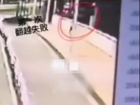 福建一23岁研究生跳桥身亡,监控视频曝光,男子曾多次翻越护栏