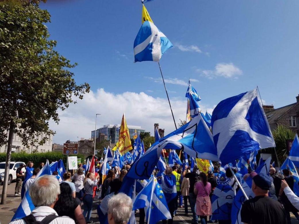 英内阁官员:如公众有确定意愿 会让苏格兰独立公投