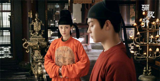 梁王陆盈盈和好,《鬓边》中无缘的唐曾何瑞贤,《骊歌行》终相聚