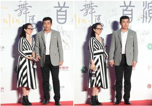 王志飞的小娇妻挺嫩的,素颜看着清纯优雅,穿搭显得挺随和