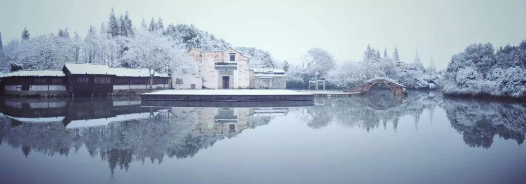 乌镇冬天的第一场雪