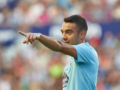阿斯帕斯是第7位近6个赛季均至少打入14球的球员,也是西班牙首人