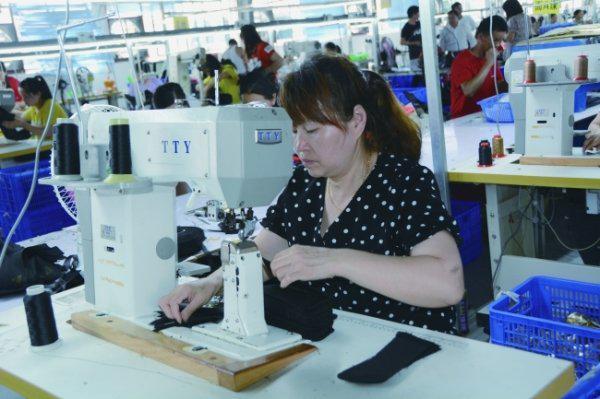 贵州山水金禾鞋业有限公司带动新市民就业