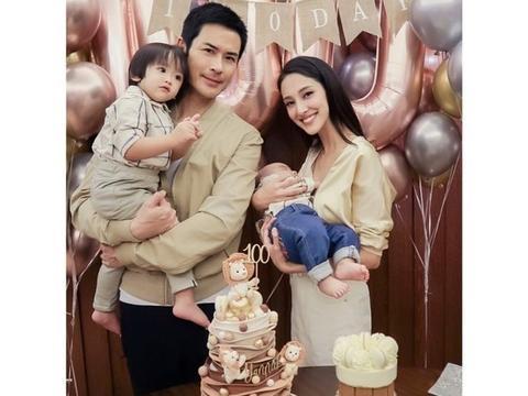 陈凯琳晒郑嘉颖喂儿子吃雪糕的温馨瞬间 一家人享甜蜜的家庭时光