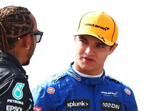 诺里斯应该向汉密尔顿学习,这样才能成为未来的F1冠军