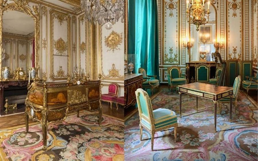 凡尔赛宫的萨瓦纳瑞和奥布松地毯,低调内敛,彰显皇室的尊贵
