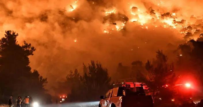 希腊雅典西侧森林大火已得到控制