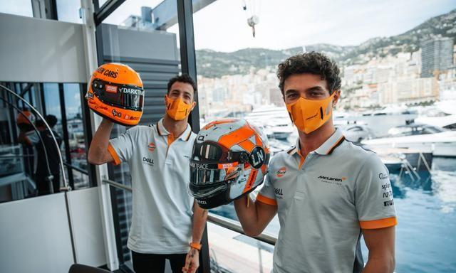 里卡多惨遭诺里斯套圈,F1迈凯伦车队将帮助里卡多找到合适的调校