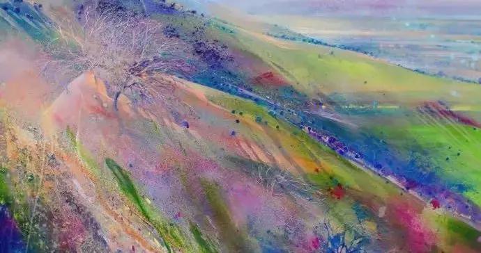 色彩梦幻,奇特绚丽~英国美女画家洛娜的丙烯绘画艺术作品欣赏