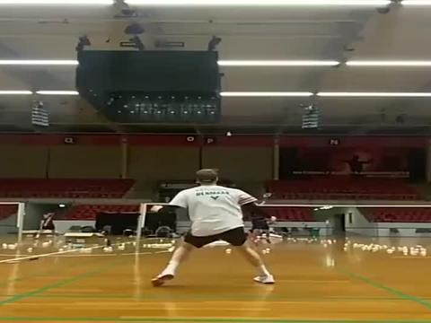 羽毛球:安东森慢动作赏!