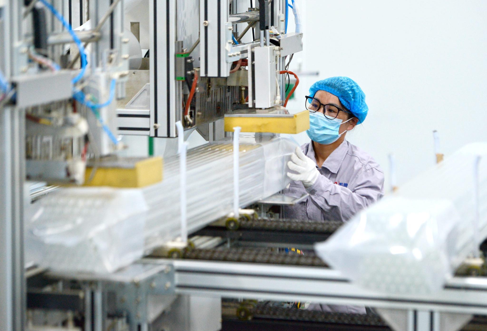 河北魏县:全力生产保障防疫药品企业需求
