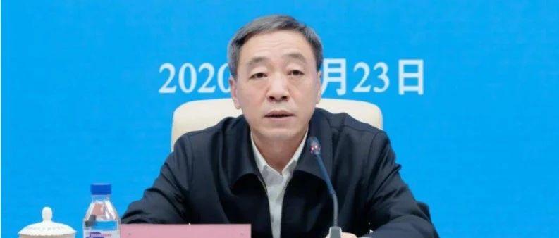 曾给朱镕基写信的他调任湖北省纪委书记