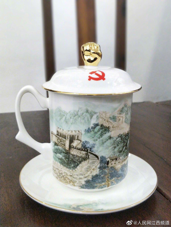 """""""80后""""陶艺大师何伟珍创作陶瓷作品献礼建党百年"""