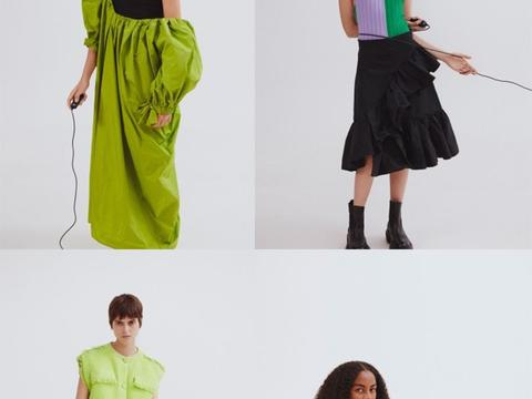 MSGM2021春夏,鲜艳的色彩和活力愉悦中还有现代摩登