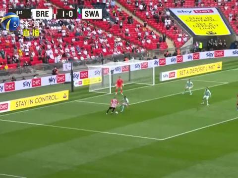 英冠升级附加赛:布伦特福德击败斯旺西,队史首次闯进英超