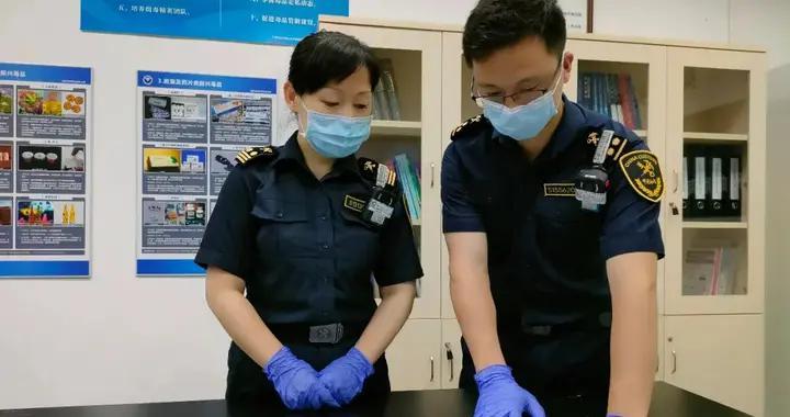 广州海关在进境邮递监管渠道查获濒危植物沉香木制品一批