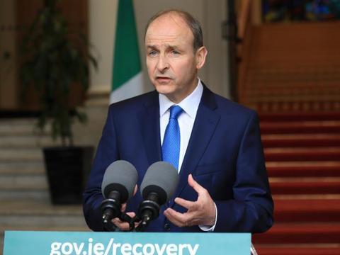 爱尔兰政府公布了40亿欧元的新冠肺炎刺激计划,以帮助企业重新开