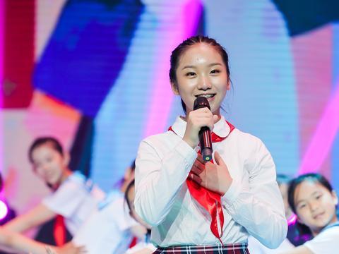 """刘婉怡受邀参加教育电视台""""六一""""节目《花儿朵朵心向党》"""