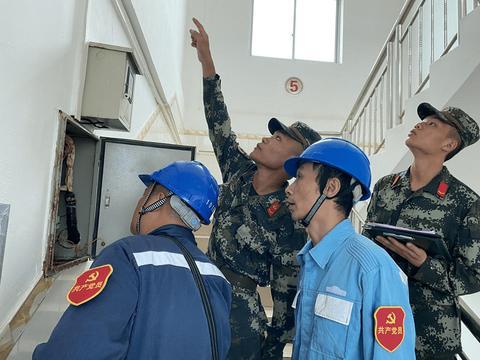南方电网广西梧州供电局:学党史见行动 进营房查隐患