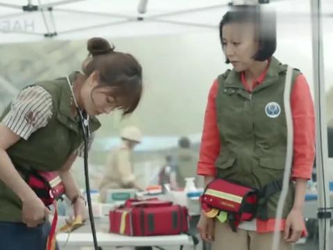 太阳的后裔:丹尼尔给了救援队一个东西,乔妹这一口韩语真得劲!