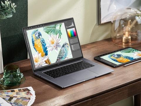 """生产力再突破,华为MateBook 16和平板也可以""""多屏协同""""了"""