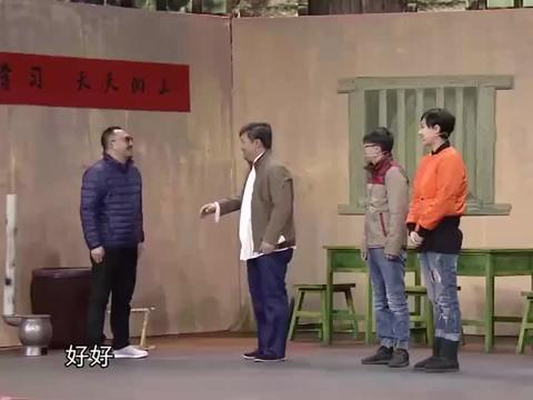 贾冰拉横幅,欢迎张木棍来支教,小伙上前:我叫张林昆!