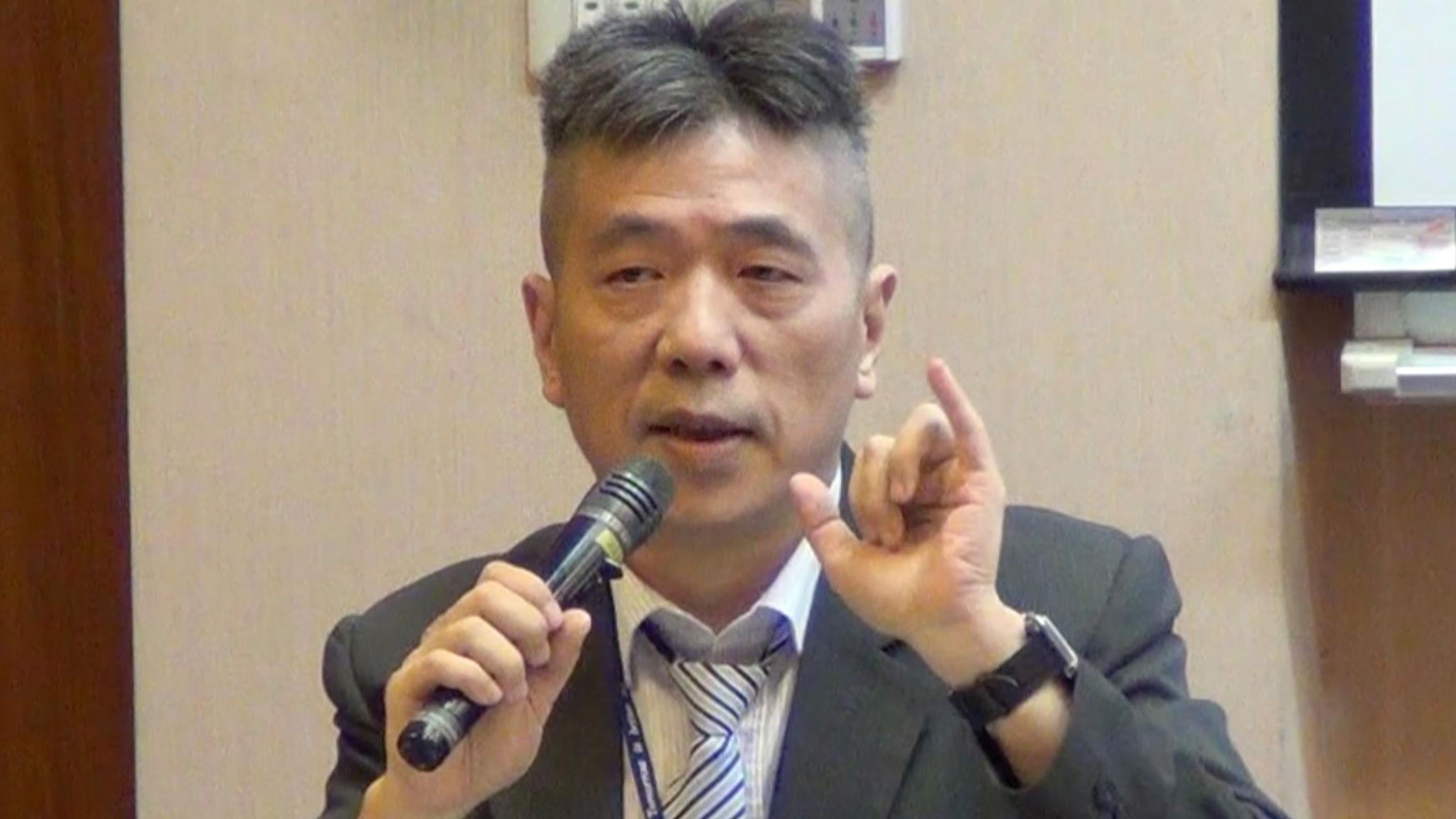 台湾著名军事专家苏紫云 图源:淡江大学
