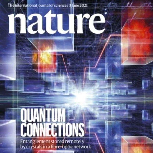 """中科大""""量子鹊桥""""登Nature封面,量子牛郎和织女没见面就能纠缠了"""