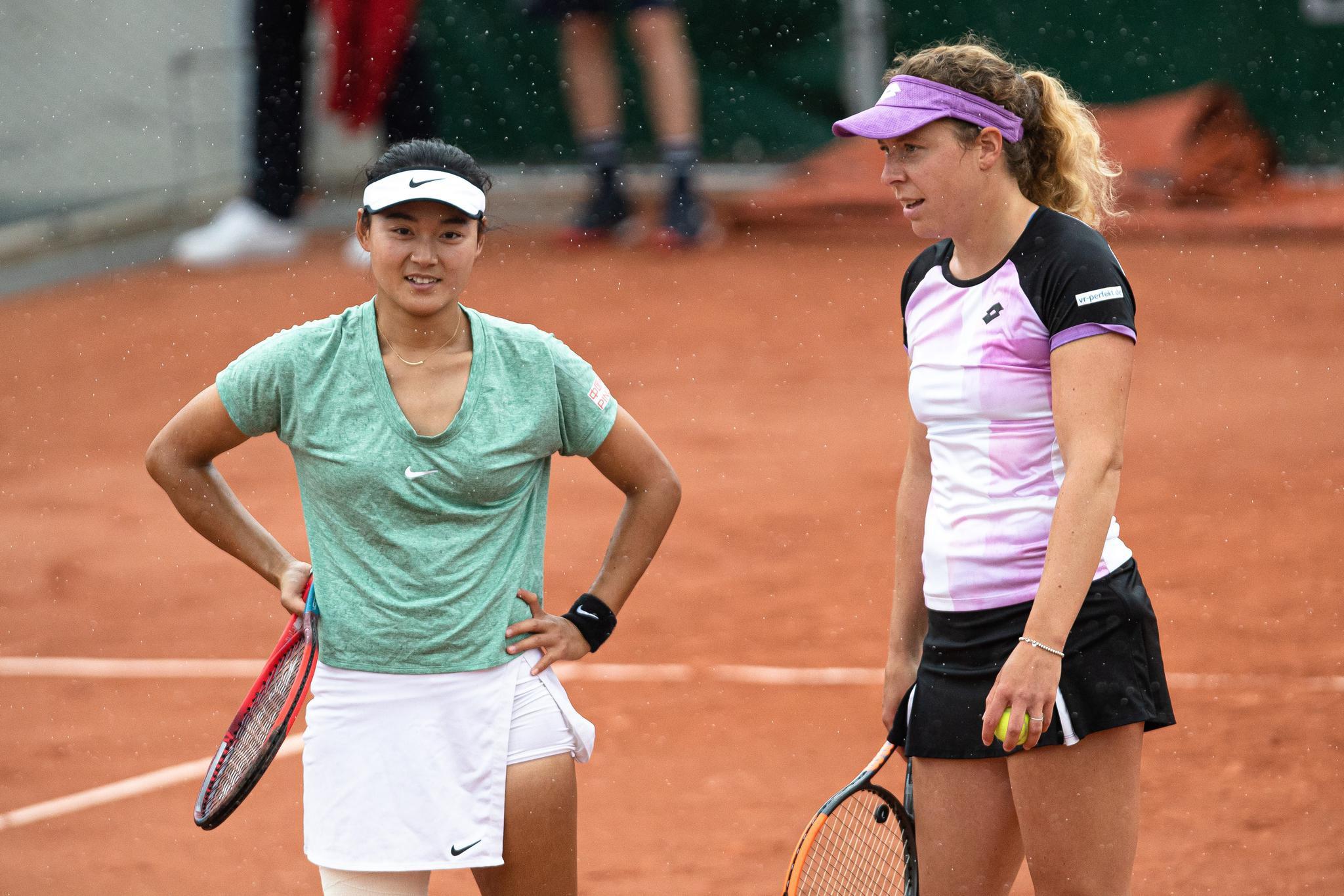 网球——法网:王雅繁/弗里德萨姆止步第二轮