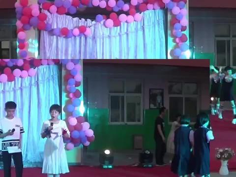 桃花笑巨鹿孔寨育红实验学校六一儿童节三年级舞蹈