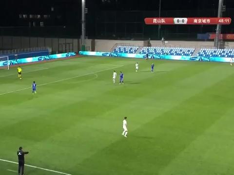 中甲联赛:平分秋色,昆山FC战平南京城市